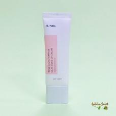 Антивозрастной осветляющий крем с галактомисисом и экстрактом розы iunik Rose Galactomyces Silky Tone Up Cream