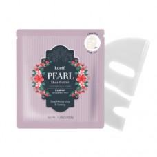 Гидрогелевая маска с жемчугом и маслом ши Petitfee Pearl & Shea Butter Mask Pack