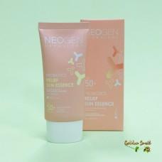 Лёгкая солнцезащитная эссенция с пробиотиками 50 мл Neogen Probiotics Relief Sun Essence SPF 50+ PA ++++