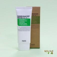 Супер лёгкий солнцезащитный крем с экстрактом центеллы 60 мл Purito Centella Green Level Safe Sun SPF50+ PA++++