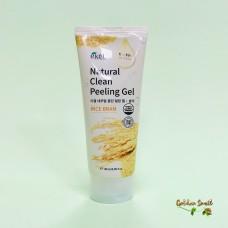 Пилинг-скатка с экстрактом коричневого риса 180 мл Ekel Natural Clean Peeling Gel Rice Bran