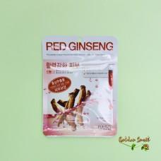 Тканевая маска с экстрактом красного женьшеня Dabo First Solution Red Ginseng Mask
