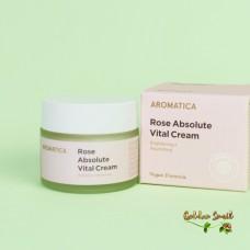 Питательный крем с экстрактом розы Aromatica Rose Absolute Vital Cream