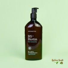 Бессульфатный укрепляющий шампунь с витамином В5 и биотином 400 мл Aromatica B5+Biotin Fortifying Shampoo