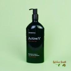 Бессульфатный шампунь против выпадения волос с розмарином 400 мл Aromatica Rosemary Active V Anti-Hair Loss Shampoo