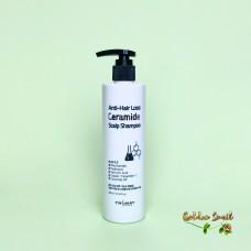 Бессульфатный шампунь с керамидами против выпадения волос 300 мл Trimay Anti-Hair Loss Ceramide Scalp Shampoo ph 5.5