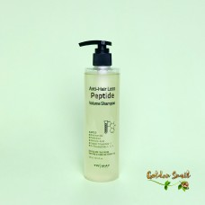Бессульфатный шампунь с пептидами для объема волос 300 мл Trimay Anti-Hair Loss Peptide Volume Shampoo ph 5.5