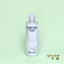 Осветляющий тонер с молочными протеинами и галактомисисом 250 мл Secret Skin Milk Light Toner