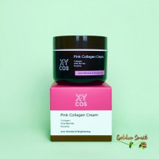 Омолаживающий крем с шиповником на основе колагена 50 мл Xycos Pink Collagen Cream