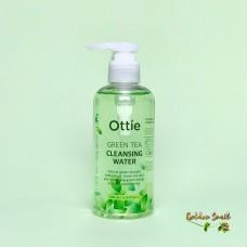 Очищающая вода с зеленым чаем для снятия макияжа 200 мл Ottie Green Tea Cleansing Water