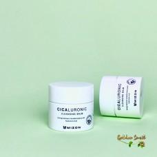 Миниатюра Очищающий бальзам с центеллой и гиалуроновой кислотой Mizon Cicaluronic Cleansing Balm