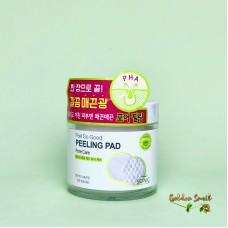 Очищающие пилинг-спонжи с PHA кислотами для сужения пор 70 шт Scinic Feel So Good Peeling Pad [Pore Care]