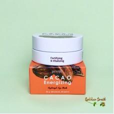 Тонизирующие гидрогелевые патчи с экстрактом какао Petitfee Cacao Energizing Hydrogel Eye Mask