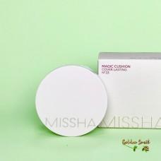 Кушон для стойкого макияжа + рефилл Missha Magic Cushion Cover Lasting SPF50+ / PA+++