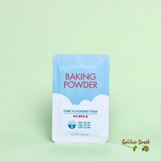 """Пробник"" Глубоко очищающая пенка с содой для лица Etude House Baking Powder Pore Cleansing Foam"