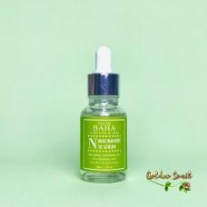 Противовоспалительная сыворотка для жирной кожи 30 мл Cos De Baha N Niacinamide 10 Serum