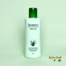Успокаивающая эмульсия с экстрактом алоэ 380 мл Deoproce Hydro Soothing Aloe Vera Emulsion