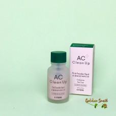 Точечное средство для борьбы с акне 15 мл Etude House AC Clean Up Pink Powder Spot