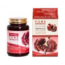 Многофункциональная ампульная сыворотка с экстрактом граната 250 мл FarmStay Pomegranate All-In-One Ampoule