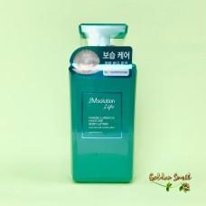 Увлажняющий лосьон для тела с протеинами жемчуга и морской водой 500 мл JMsolution Life Marine Luminous Moisture Body Lotion Pearl