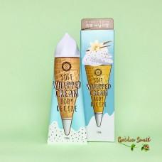 Крем для тела с ароматом ванили 150 гр Angellooka Soft Whipped Cream Body Recipe Vanila Scent