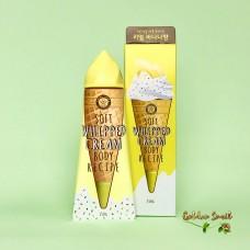 Крем для тела с ароматом спелого банана 150 гр Angellooka Soft Whipped Cream Body Recipe Banana Scent