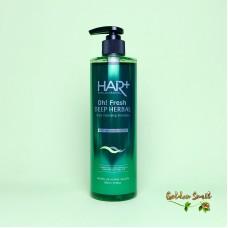 Освежающий шампунь на травах 500 мл Hair Plus Oh! Fresh Deep Herbal Shampoo