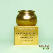Антивозрастной крем с коэнзимом Q10 50 мл Bergamo Coenzyme Q10 Wrinkle care Cream