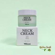 Отбеливающий лифтинг крем для шеи и лица  50 мл Vella Neck Cream