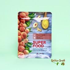 Тканевая маска для лица с экстрактом персика Eyenlip Super Food Peach Mask