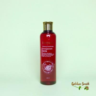 Антивозрастной тонер с экстрактом граната 260 мл Deoproce Pomegranate Skin